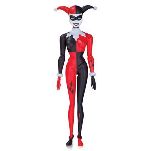 figura harley quinn the animated series dc comics 13 cm