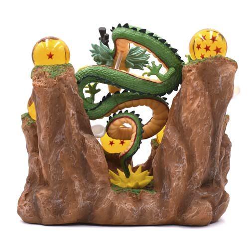 figura shenron con expositor bolas de dragón