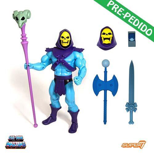 figura super7 skeletor masters universo