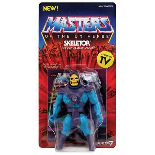 figura super7 skeletor vintage masters universo