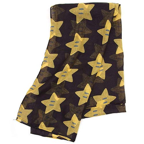 foulard estrella super mario nintendo