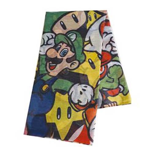 foulard super mario personajes nintendo