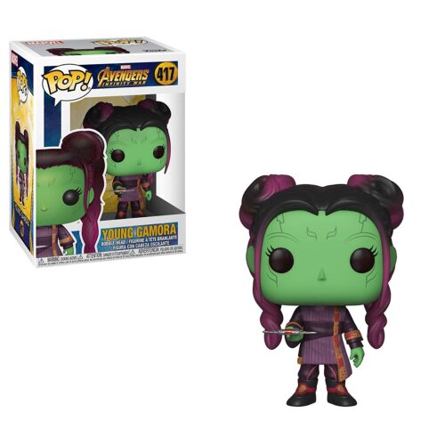 funko pop infinity war young gamora marvel
