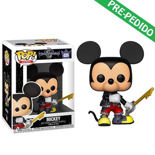 funko pop mickey kingdom hearts 3