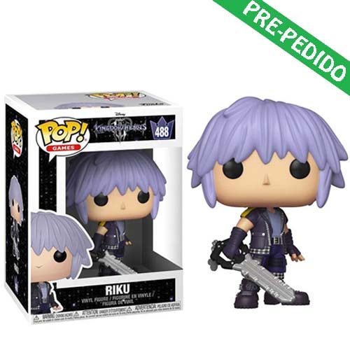 funko pop riku kingdom hearts 3