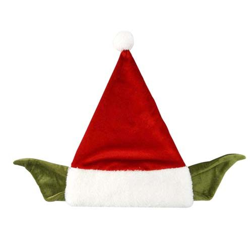 gorro de navidad santa yoda star wars