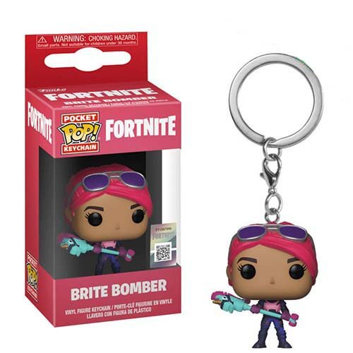 llavero funko pop brite bomber fortnite