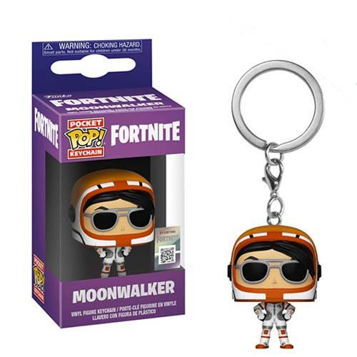 llavero funko pop moonwalker fortnite