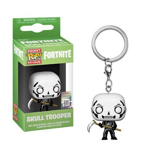 llavero funko pop skrull trooper fortnite