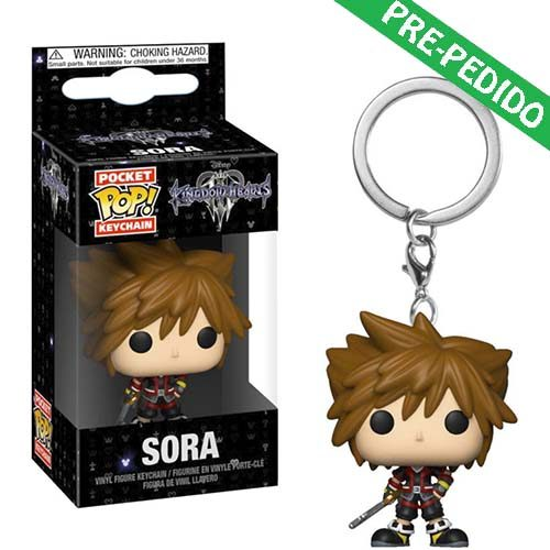 llavero funko pop sora kingdom hearts 3