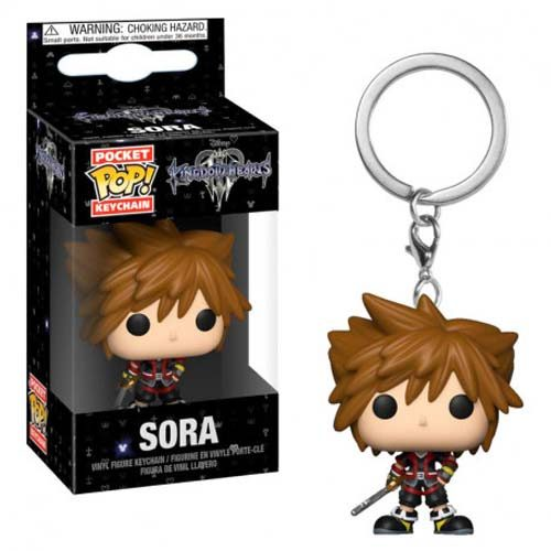 llavero funko pop sora kingdom hearts disney