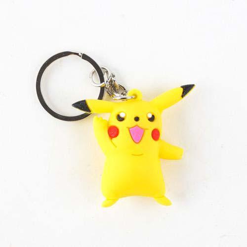 llavero pikachu pokemon 4 cm