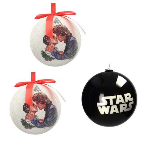 pack 3 bolas de navidad star wars