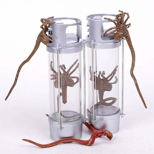 pack figuras facehugger hipersueño 2