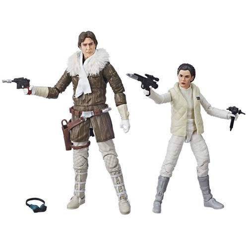 pack han y leia hoth black series star wars