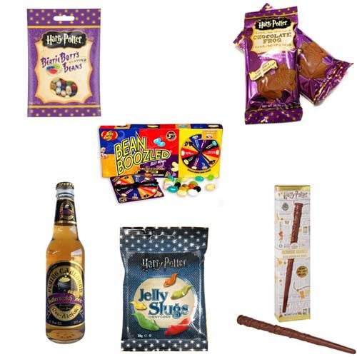 pack harry potter comida