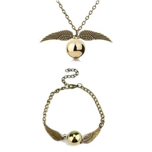 pack joyas harry potter snitch