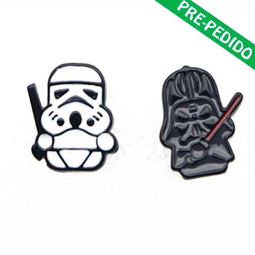 pendientes vader trooper star wars