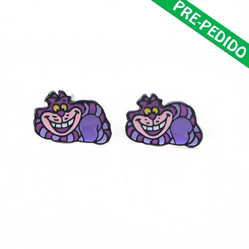 pendientes cheshire alicia disney