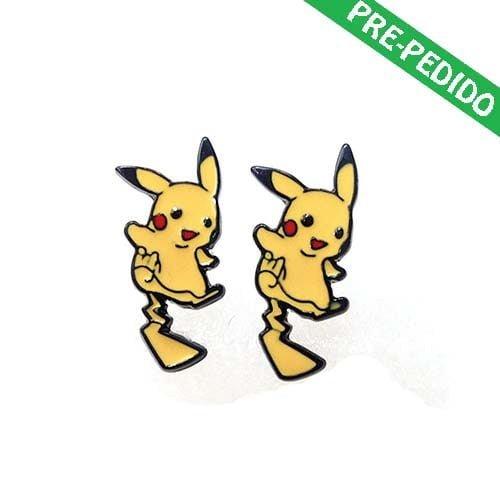 pendientes pikachu pokemon