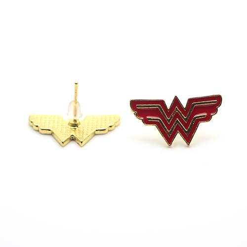 pendientes wonder woman logo dc comics 2