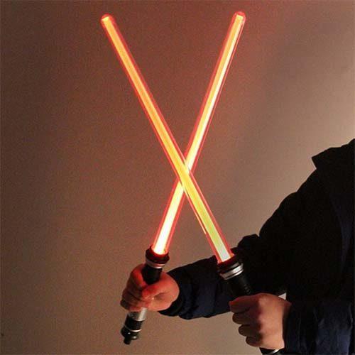 replica cosplay sable laser doble 2