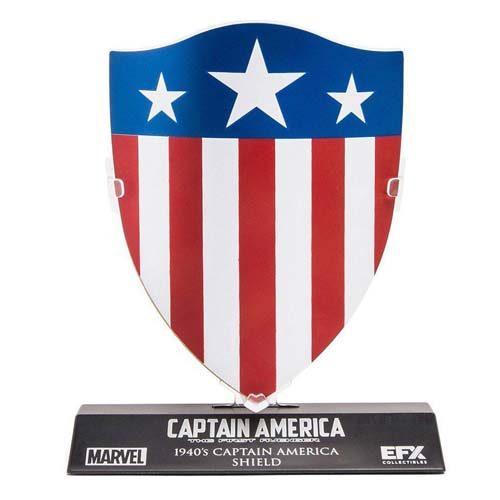 réplica escudo capitán américa 1940 shield marvel
