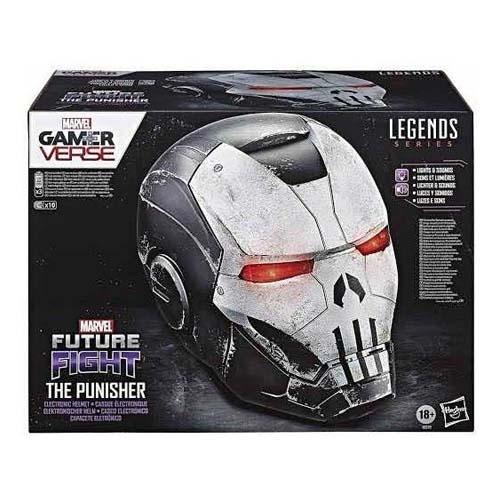 casco iron punisher marvel legends
