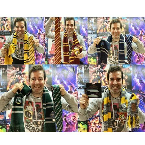 bufandas y corbatas hp