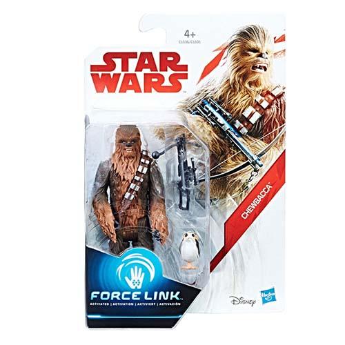 figura force link chewbacca star wars