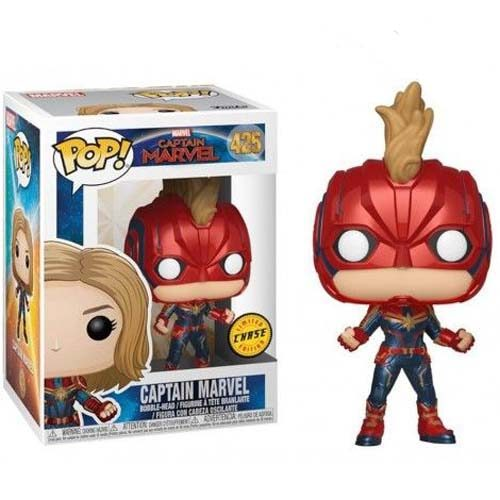 funko pop capitana marvel chase