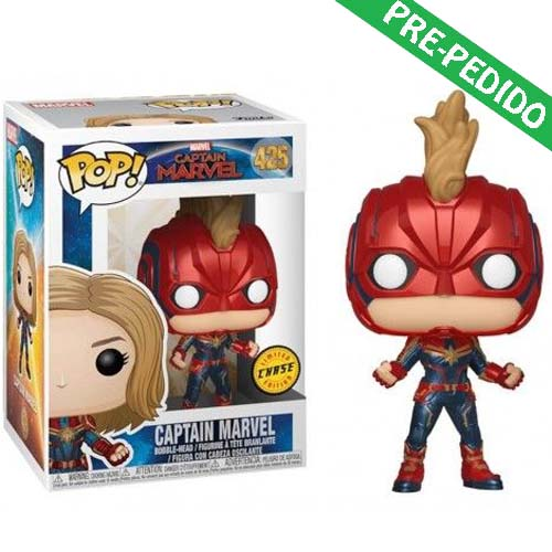 funko pop capitana marvel chase marvel