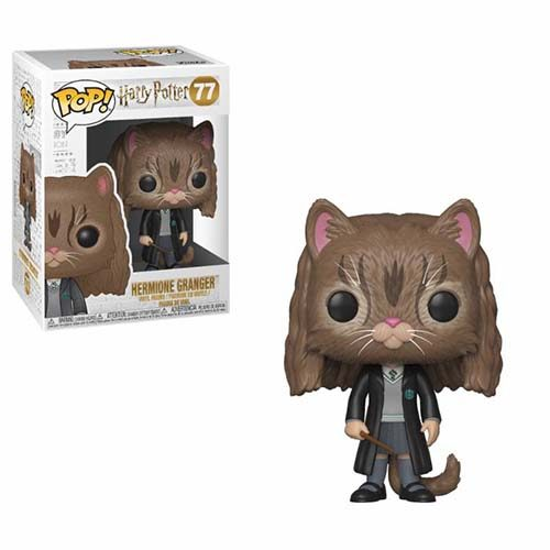 funko pop hermione gato harry potter