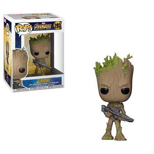 funko pop infinity war groot escopeta marvel