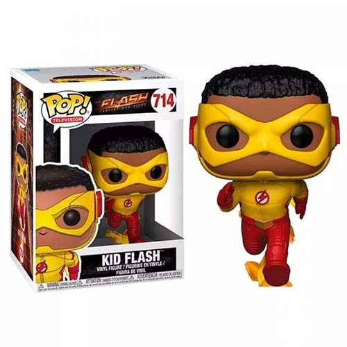 funko pop kid flash the flash dc comics