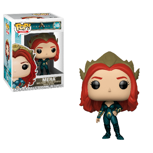 funko pop mera aquaman dc comics
