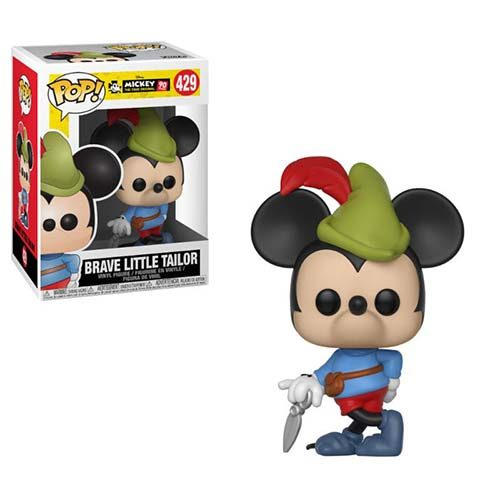 funko pop mickey sastrecillo valiente disney
