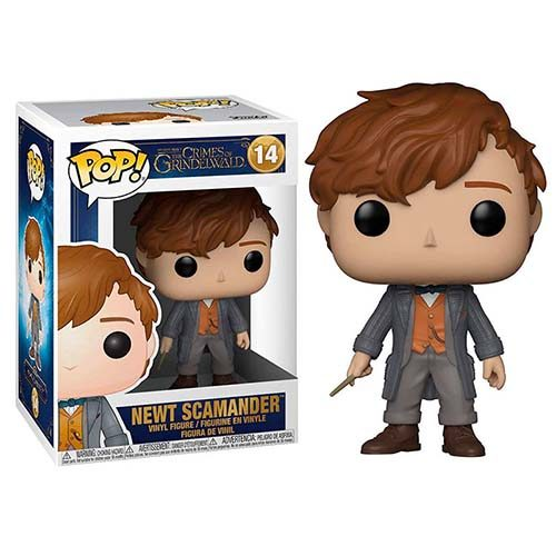 funko pop newt scamander harry potter