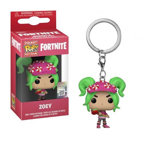 llavero funko pop zoey fortnite