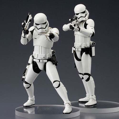 pack figuras stormtrooper 1ª orden star wars 18cm