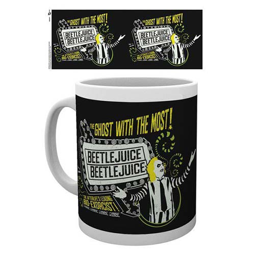 taza desayuno the ghost with the most beetlejuice