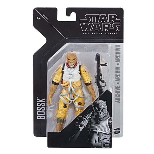 figura bossk black series archive star wars