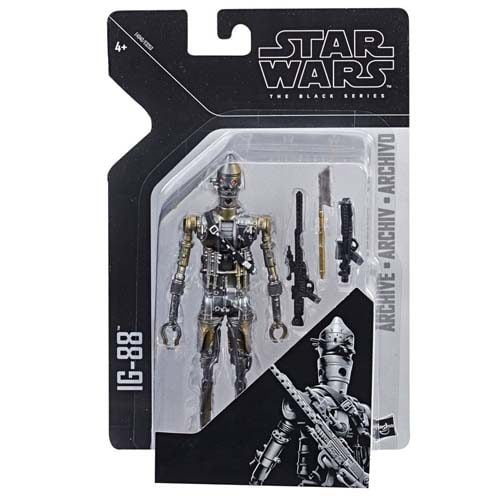 figura ig-88 black series archive star wars