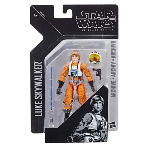 figura luke skywalker black series archive star wars