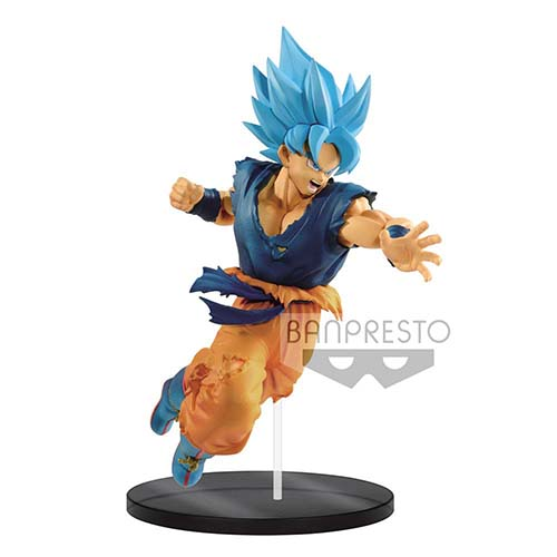 figura dragon ball super saiyan god son goku 20 cm