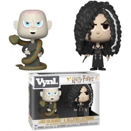 pack funko vnyl lord voldemort and bellatrix harry potter