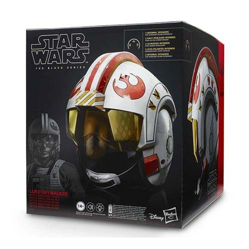 casco electrónico luke skywalker star wars