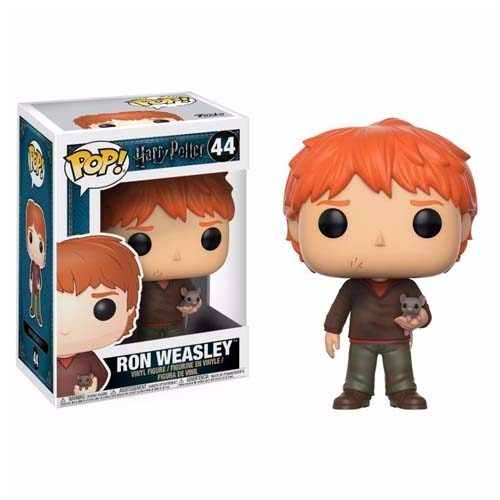funko pop ron weasley with mouse harry potter