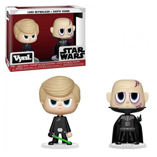 pack funko vnyl luke skywalker and darth vader