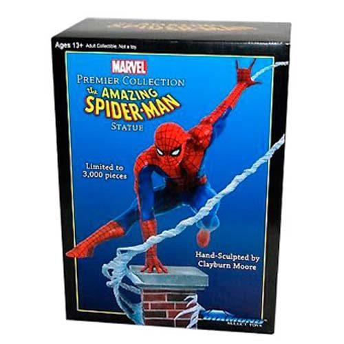 estatua marvel spiderman 30 cm
